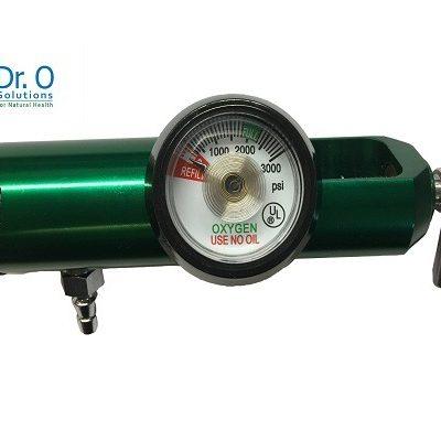 Oxygen Regulator 0 - 1/32 to 4 Lpm Low Flow CGA 870 for Medical Grade Tank
