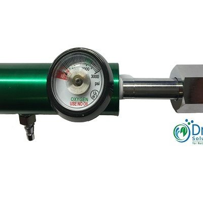 Low Flow Oxygen Regulator 1/32 to 4 L/m CGA 540 for Industrial Tanks