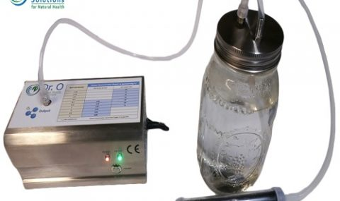Medical Ozone Water Purification Ozonated Water Therapy with NANO SS Stone