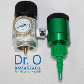 Low Flow Oxygen Regulator 1/32 to 4 L/m For Disposable Oxygen Tank