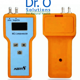 Oxygen  Tester - Analyzer with Flow and Pressure Meter