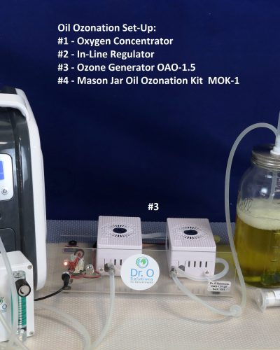 Oil Ozonation Set-up-Concentrator
